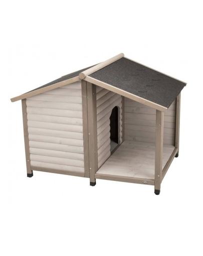 TRIXIE Cușcă pentru câini Natura S: 100×82×90 cm, gri imagine
