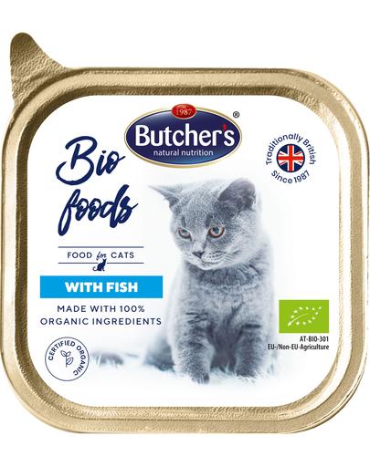 BUTCHER'S BIO cu pește 85 g imagine