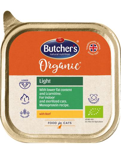 BUTCHER'S Organic Light cu vită 85 g imagine