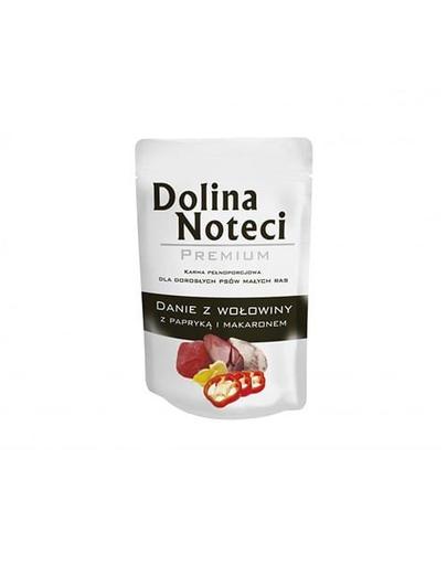 DOLINA NOTECI Premium cu vită, ardei și tăiței 100 g imagine