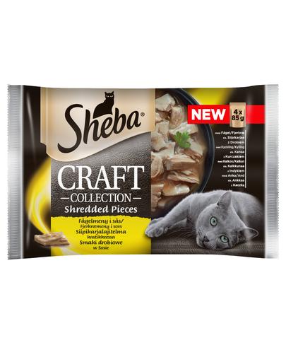 Sheba Craft Collection Cu Carne De Pasare In Sos 4x85g