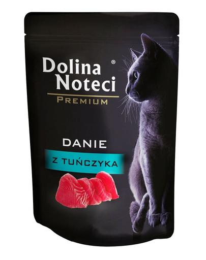 DOLINA NOTECI Premium hrană umedă pentru pisici adulte, cu ton 85 g imagine