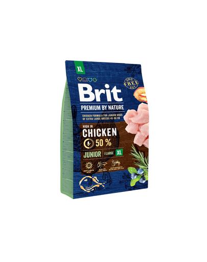 BRIT Premium By Nature Junior Extra Large XL 3 kg imagine