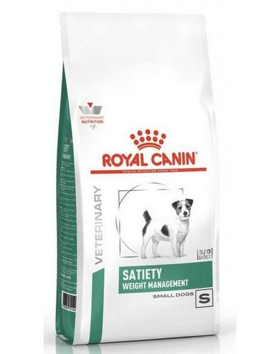 ROYAL CANIN Dog Veterinary Diet Satiety pentru câini de talie mică 500 g imagine
