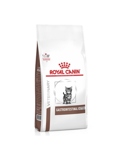 ROYAL CANIN VET Diet Kitten Gastro Intestinal Hrană uscată pentru pisoi cu tulburări digestive 400 g imagine