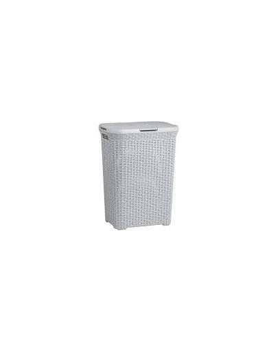 CURVER Coș pentru haine în stil Rattan 60 L gri deschis imagine
