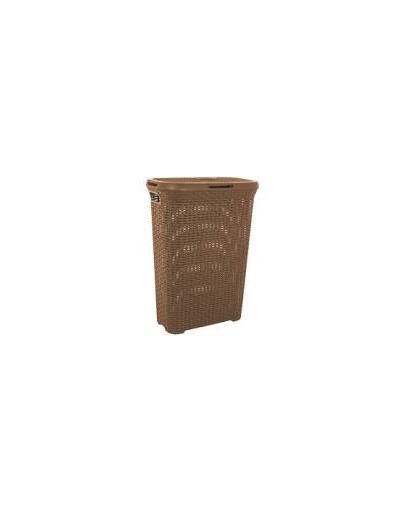 CURVER Coș pentru haine în stil Rattan 40 L maro imagine