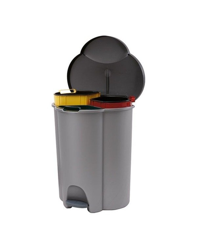 CURVER Coș de sortare a deșeurilor TRIO 40 L imagine