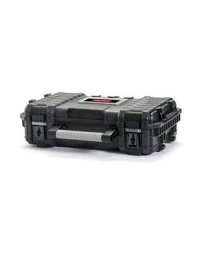 CURVER Organizator cutie rigidă negru / roșu imagine