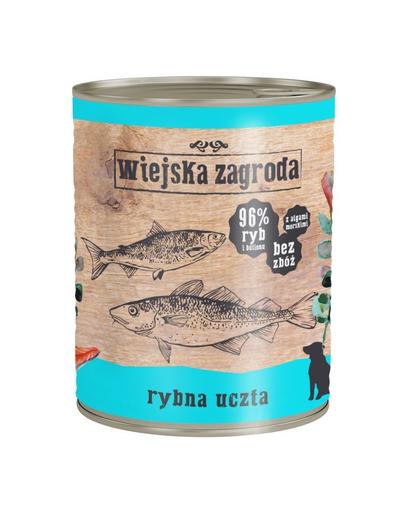 Wiejska Zagroda Hrană Umedă Fără Cereale, Cu Pește 800 Gr imagine