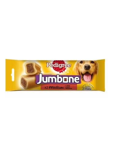 PEDIGREE Jumbone cu vită pentru câini de talie medie 20 x 90 gr imagine