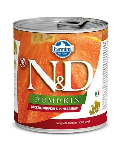 FARMINA N&D Hrană pentru câini - dovleac și pui - 285 gr imagine