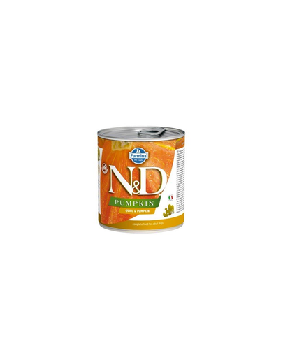 FARMINA N&D Hrană pentru câini - dovleac și prepeliță -285 gr imagine