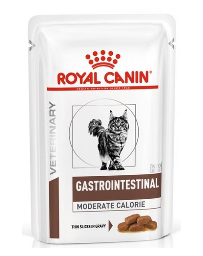ROYAL CANIN Cat Gastro Intestinal Moderate Calorie 12 x 85 g imagine