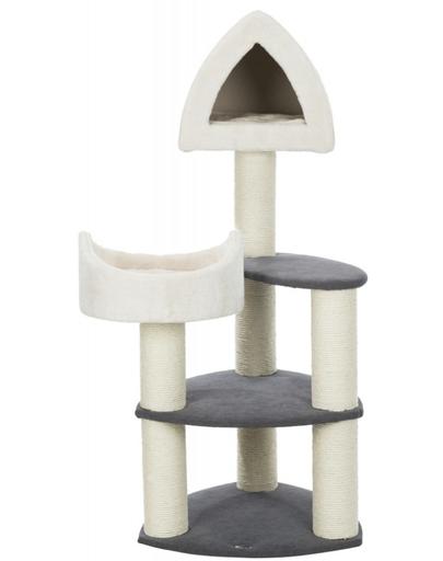 TRIXIE Ansamblu de joacă pentru pisici Marcy Soft 130 cm, crem/gri imagine