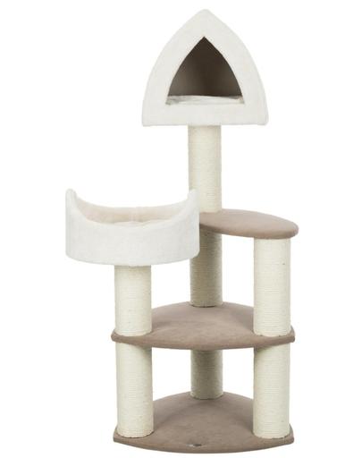 TRIXIE Ansamblu de joacă pentru pisici Marcy Soft 130 cm, crem/maro imagine