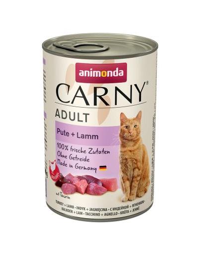 ANIMONDA Carny Adult curcan și miel 400 gr imagine