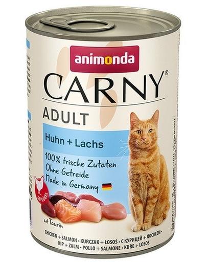 ANIMONDA Carny Adult pui și somon 400 gr imagine