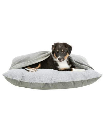 TRIXIE Pernă pentru câini Melle cu pătură 80 × 60 cm imagine