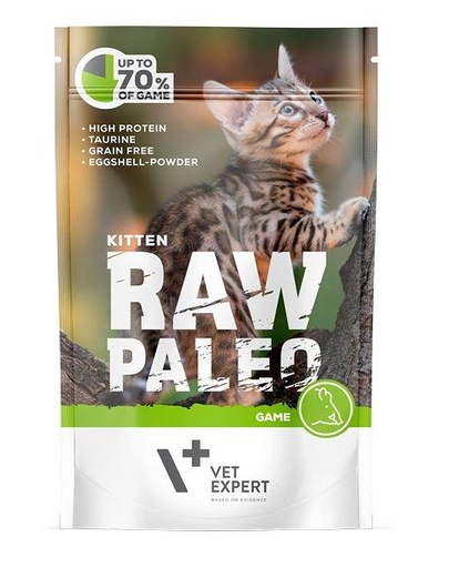 VETEXPERT RAW PALEO Kitten cu vânat 100 g imagine
