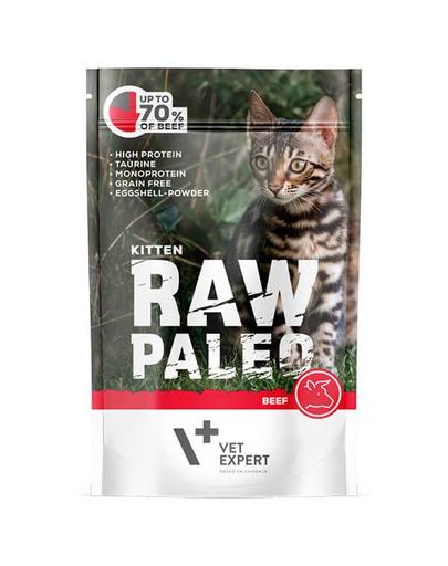 VETEXPERT RAW PALEO Kitten cu vită 100 g imagine