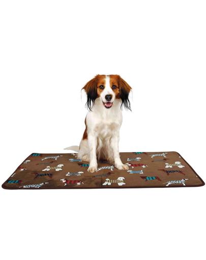 TRIXIE Saltea pentru câini FunDogs 90 × 68 cm imagine