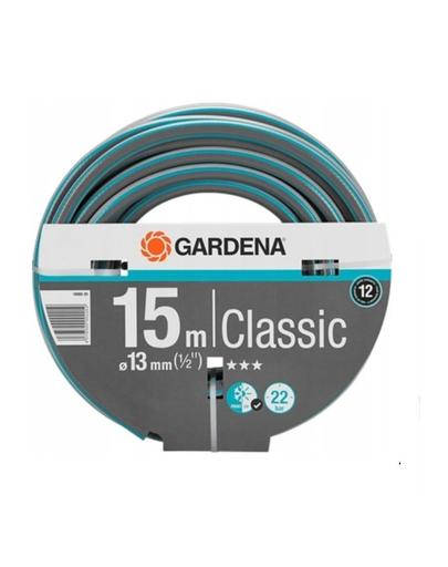 """GARDENA Furtun de grădină Classic 1/2"""""""", 20 m imagine"""