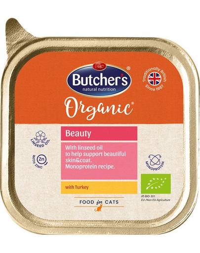 BUTCHER'S Organic Beauty Monoproteină curcan 85 g imagine