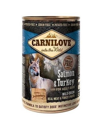 CARNILOVE Wild Meat Salmon&Turkey somon și curcan 400 gr imagine
