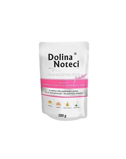 DOLINA NOTECI Premium Junior inimi de curcan și ficat de gâscă 100g imagine