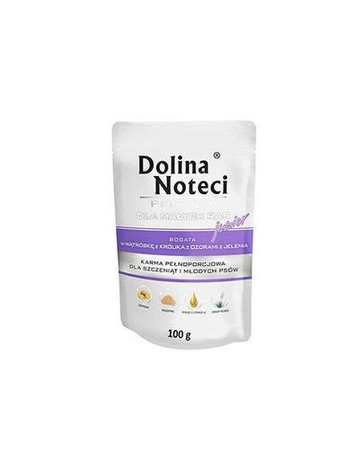 DOLINA NOTECI Premium Junior cu ficat de iepure și limbi de cerb 100g imagine