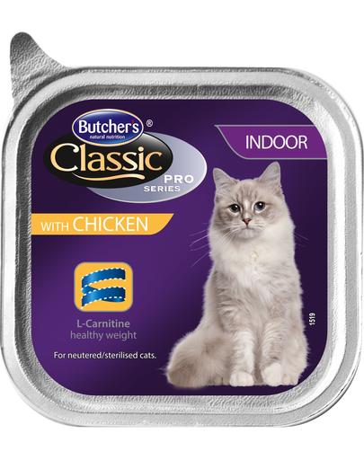 BUTCHER'S Cat Classic Indoor pate cu pui 100 g imagine