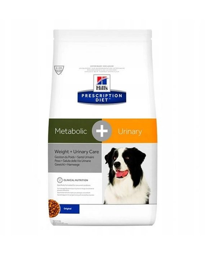 HILL'S PD Metabolic + Urinary Canine 12 kg imagine
