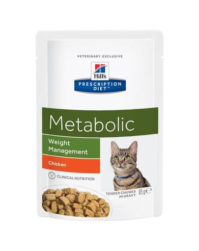 HILL'S Prescription Diet Feline Metabolic 85 g imagine