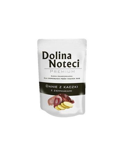 DOLINA NOTECI Premium cu rață și cartofi pentru câini de talie mică 100 gr imagine