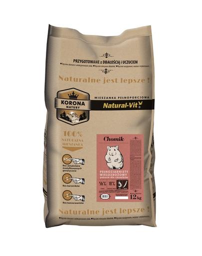 NATURAL-VIT Korona Natury Amestec complet pentru hamsteri 12 kg imagine