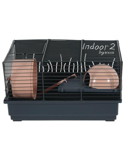 ZOLUX Cușcă pentru hamster INDOOR2 40 roz pudrat imagine