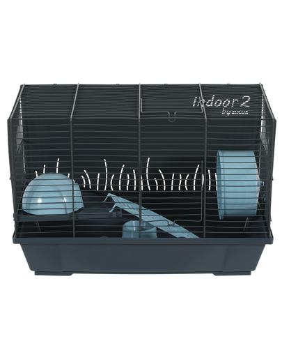 ZOLUX Cușcă pentru hamster INDOOR2 50 albastru deschis imagine