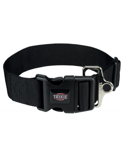 TRIXIE Zgardă Premium XXL, L–XXL: 55–80 cm/50 mm, negru imagine