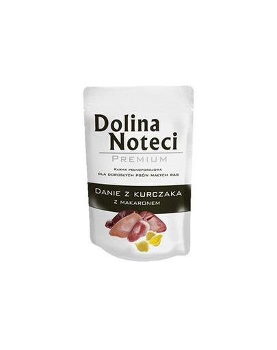 DOLINA NOTECI Premium pentru câini de talie mică, cu pui și paste 100 g imagine