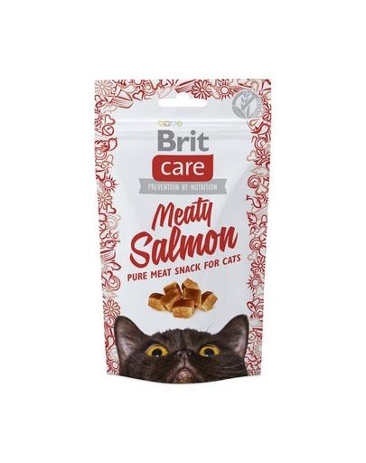 BRIT Care Cat Snack Meaty Salmon 50 g imagine