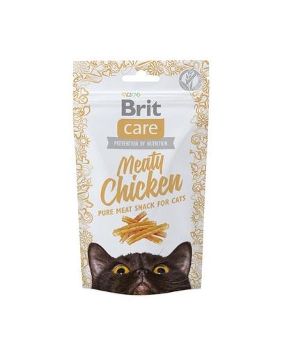 BRIT Care Cat Snack Meaty Chicken 50 g imagine