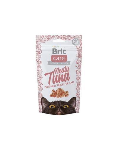 BRIT Care Cat Snack Meaty Tuna 50 g imagine