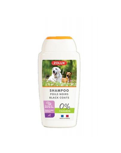 ZOLUX Șampon pentru păr negru 250 ml imagine