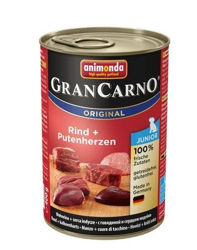 ANIMONDA Grancarno Junior inimi de vită și curcan 400 gr