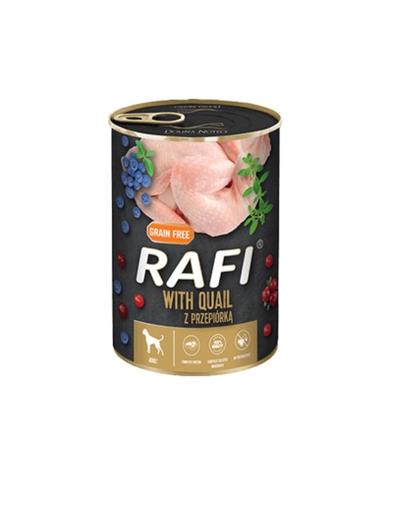 DOLINA NOTECI RAFI hrană umedă pentru câini, cu prepeliță 400 g imagine