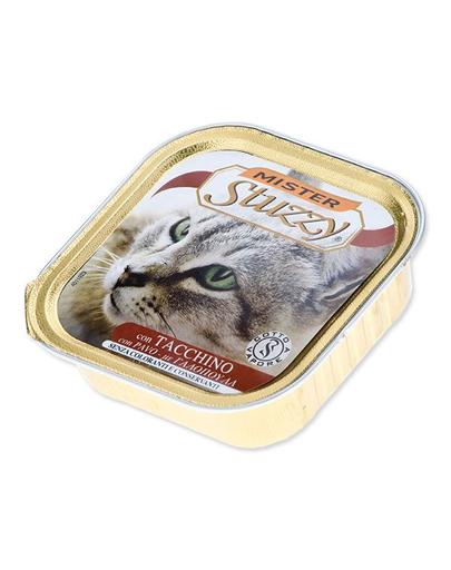 STUZZY Mister Cat hrană umedă pentru pisici, curcan 100 g imagine