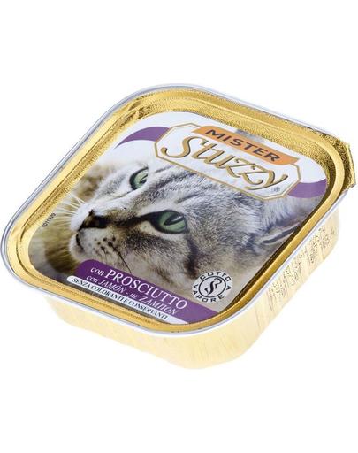 STUZZY Mister Cat hrană umedă pentru pisici, cu șuncă 100 g imagine