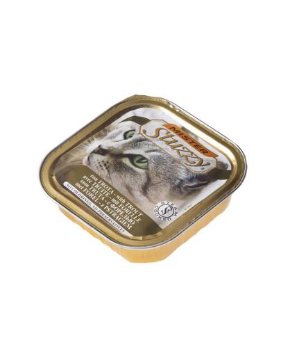 STUZZY Mister Cat hrană umedă pentru pisici, cu păstrăv 100 g imagine