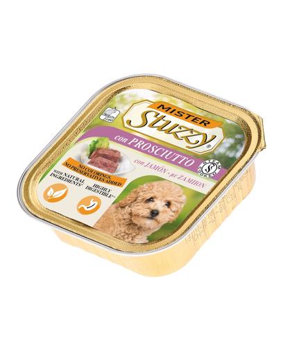STUZZY Mister Dog hrană umedă pentru câini, cu șuncă 150 g imagine